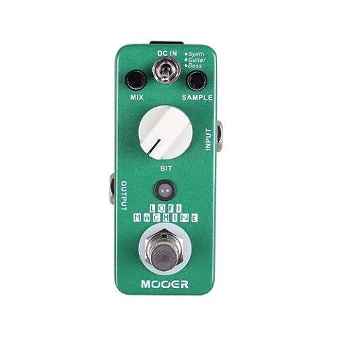 Mooer loFi sample réducteur machine-pédale pour guitare
