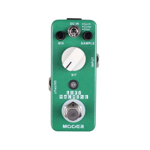 MOOER LOFI MACHINE – SAMPLE REDUCER PEDAL PARA GUITARRA ELECTRICA