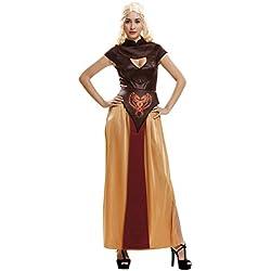 My Other Me - Disfraz Reina Dragón guerrera para mujer, S (Viving Costumes 202725)
