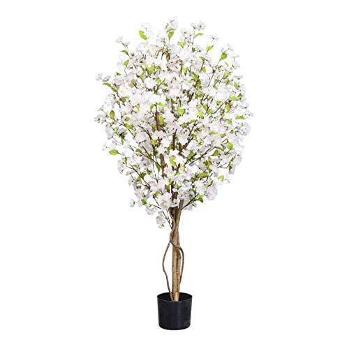 Red Hot Plants Künstlicher Kirschblütenbaum in Blassrosa oder Creme