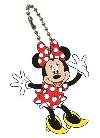 Disney Mickey Mouse Bendable Keychain Minnie