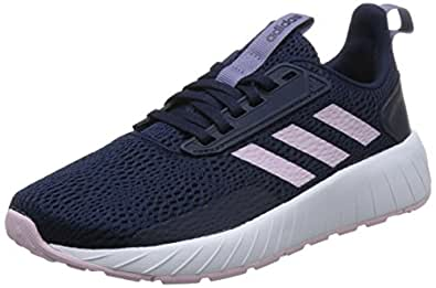 adidas Damen Questar Drive Gymnastikschuhe  41 1/3 EUSchwarz (Core Black/Real Pink S18/Shock Red S16)