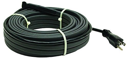 120v Kit (King Electric SRP126-150 120V Self Regulating Pre Assemble Pipe Freeze Cable Kit, 150' by King Electric)