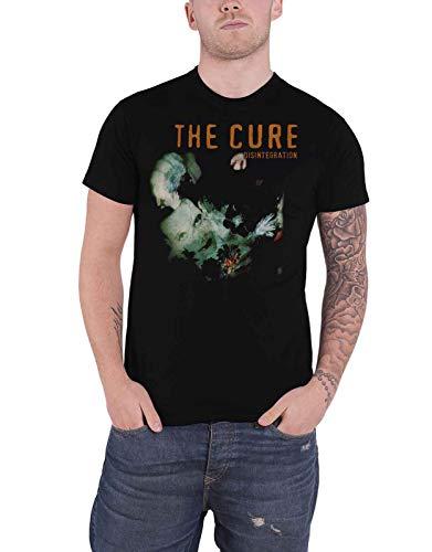 Générique The Cure T Shirt Disintegration Album Cover Band Logo Nouveau Officiel Homme Size XL