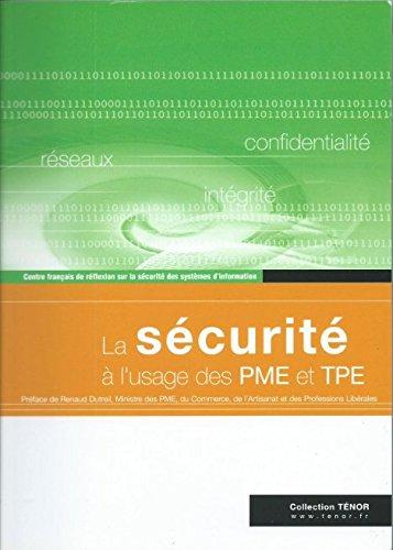 La sécurité à l'usage des PME et TPE