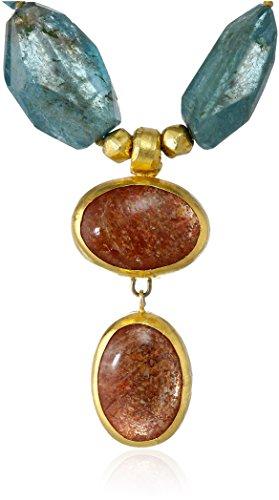 nava-zahavi-apatite-two-sunstone-drops-wrapped-24k-gold-necklace