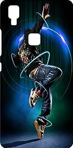 Koolbug Printed Hard Back Case Cover For Vivo V3 Max