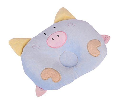 Baby Pillow (17 X 15 Cm_ Of285- Blue)