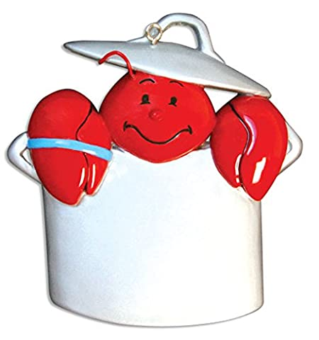Personalisierte Weihnachtsschmuck travel-lobster/Topf - WE CUSTOMIZE for you