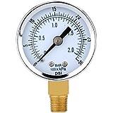 0-30psi 0-2bar Mini Wahlluftkompressor Meter Hydraulische Manometer