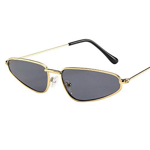 Honestyi Mode frauen damen kleinen rahmen sonnenbrille vintage retro cat eye Kleines Dreieck Cat Eye Sonnenbrillen # 181