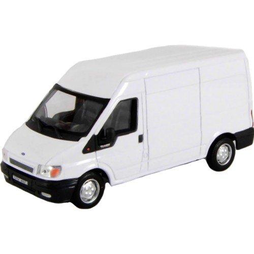 Cararama 1:43 Scale Ford Transit White Model Van