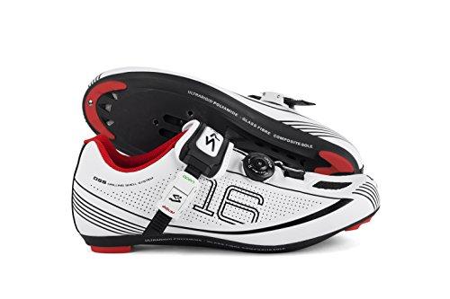 Spiuk 16 Route - Chaussures unisex Blanc / noir