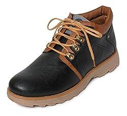 Bacca Bucci Mens Black Boots - 7 UK, BBMA2130A