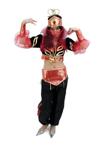 Kostüm: Bauchtänzerin 1001 Nacht Scheherazade Gr. (Kostüme Und Bauchtänzerin Gold Schwarz)