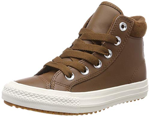 Converse Unisex-Kinder Chuck Taylor All Star PC Boot Hohe Sneaker, Braun, 36 EU -