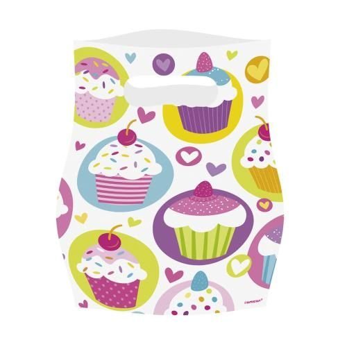 �r Mitgebsel Cupcake 6 Stk. (Tea-party-kostüme)