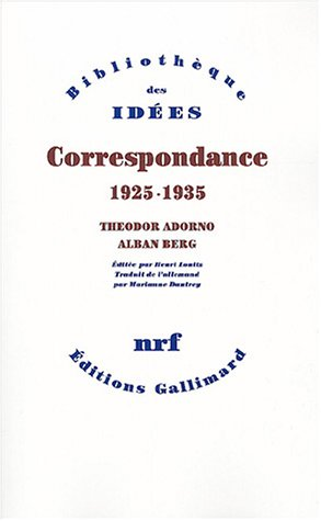 Correspondance : 1925-1935