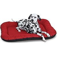 Knuffelwuff Wasserfestes In und Outdoor Hundebett Lucky - Größe XXL, 118 x 85 cm, rot