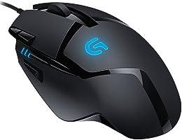 Logitech G402 Hyperion Fury FPS Mouse da gioco con 8 pulsanti programmabili , Nero
