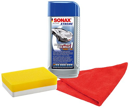 SONAX 201200 Xtreme Brilliant Wax 1 Hybrid (Armor All Car Wax)