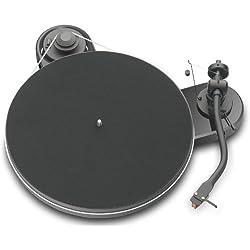 Pro-Ject RPM 1.3 Genie - Tocadiscos (Corriente alterna, 100 - 240 V, 50/60 Hz, Negro, 380 x 115 x 350 mm)