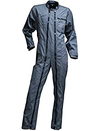 LMA – Combinaison de travail Homme, 2 zips, Rondelle – Coloris Gris – Taille 7