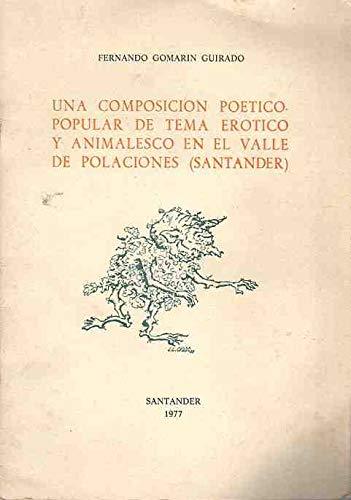 Una composición poético popular de tema erótico y animalesco en el Valle de Polaciones