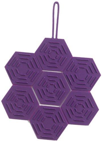 Mastrad F04305 Dessous de Plats Silicone Violet 31 x 22 cm