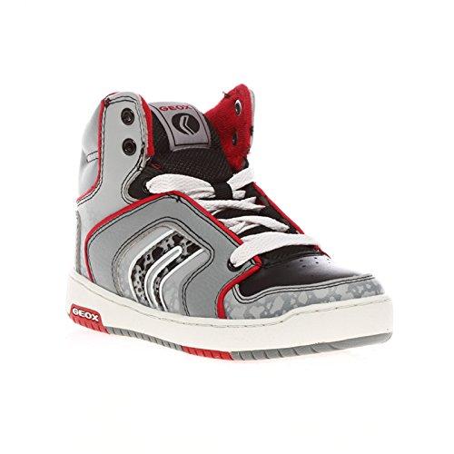GEOX J44K1AOB ORACLE 32/35 bébé Les chaussures sneakers gris mi Grigio