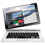 "Thomson THBK1-9.32WIN PC portable hybride tactile 8,9"" Noir/Blanc (Intel Atom, 1 Go de RAM, Disque Dur 32 Go, Windows 10)"