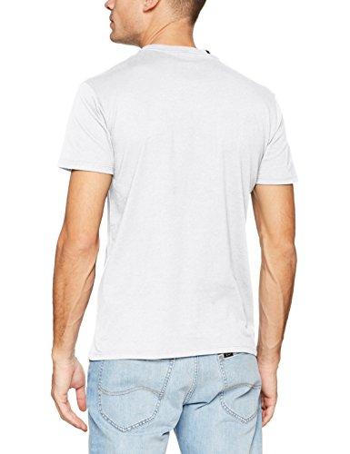 Replay Herren T-Shirt Kurzarm Shirt Weiß (White 1)