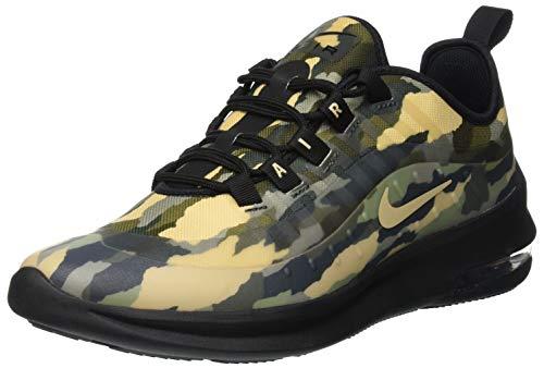 sports shoes d03c3 0b061 Nike Air MAX Axis Print (GS), Zapatillas de Running para Niñas, Negro