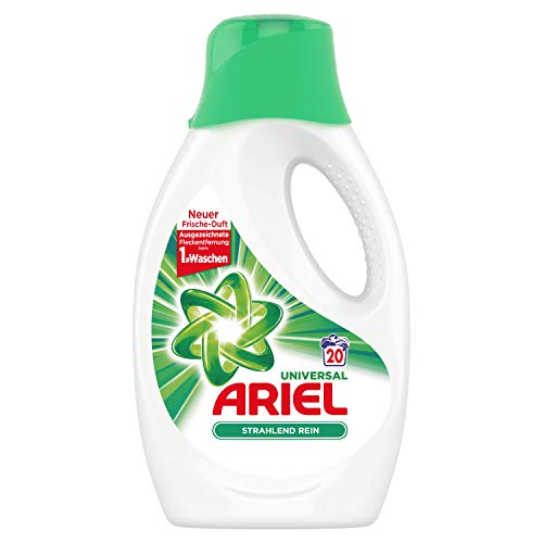 Ariel Universal Flüssigwaschmittel Strahlend rein 1,1l, 20Waschladungen