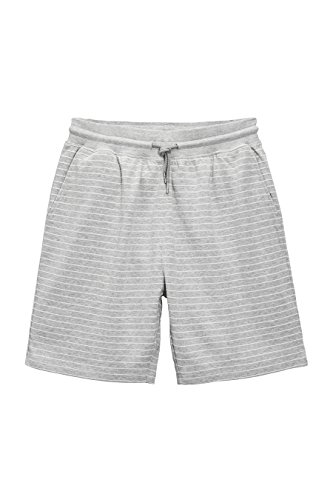 next Uomo Shorts In Jersey Grigio Mélange A Righe L