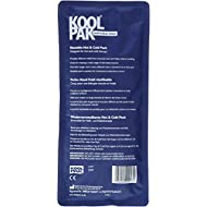 Koolpak Deluxe Reusable Hot and Cold Gel Pack, Pack of 3