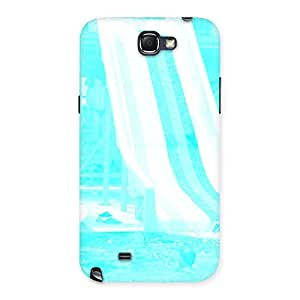 Cyan Ride Back Case Cover for Galaxy Note 2