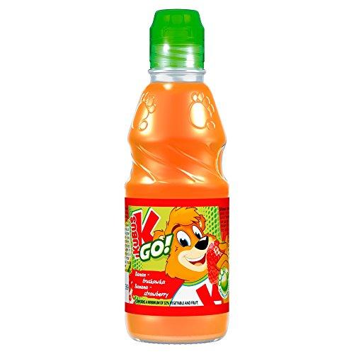 Preisvergleich Produktbild Kubus GO Karotte- Apfel-Banane-Erdbeere-Saft 300 ml