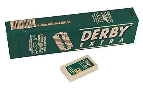 les lames de rasoir DERBY EXTRA Double Edge - 40x5 = 200