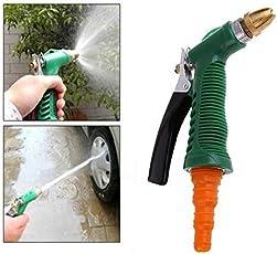 Mk Brass Nozzle Plastic Trigger Water Spray Gun Spray Jet Assorted Color