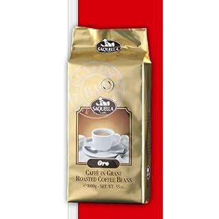 Saquella Espresso ORO BAR 1 kg ganze Bohnen