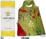 2x 50 Hartkapseln Omniflora N +Gratis Einkaufstasche zum Falten. Für den Darm