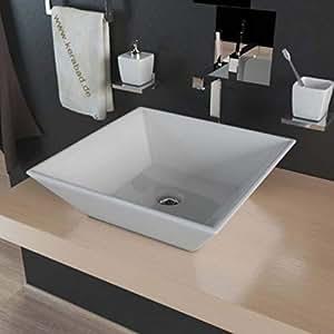 Lavabo kbw049 c ramique lavabo lavabo bricolage for Amazon lavabos
