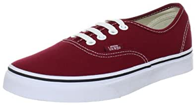 Vans Authentic, Baskets mode homme, Rouge (Rot), 43