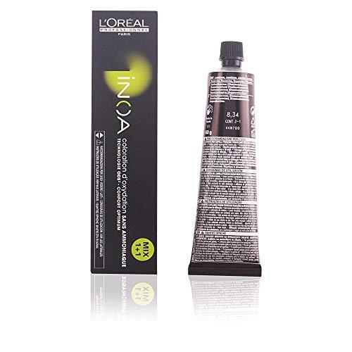L'Oréal Inoa - Oxidative Coloration Ohne Ammoniak 8,34 Hellblond Gold Kupfer, 1er Pack (1 x 60 ml)
