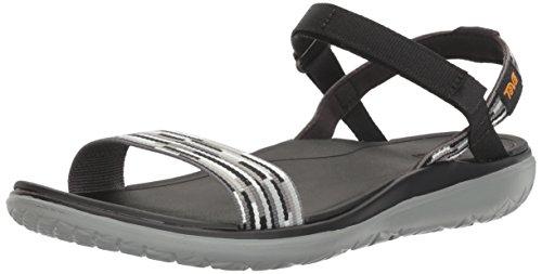 Teva Terra-Float Nova Ws, Sandales de Sport Femme Tacion Grey/Multi