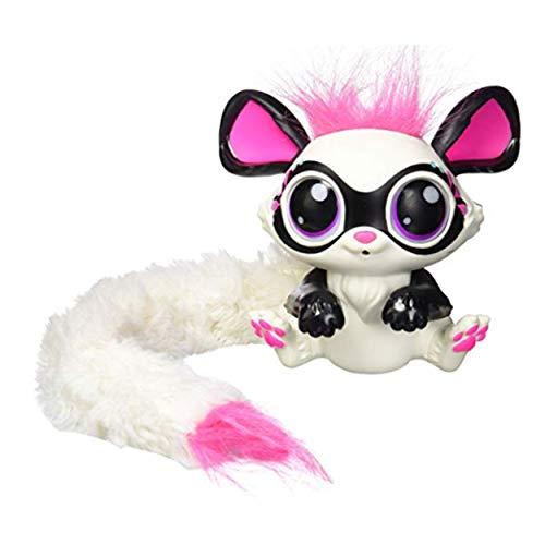 ClookYeed Lemur Plüsch Regelmäßige Weiche Big-Eyed Stofftier Sammeln Puppe Spielzeug mit Herz Tag Interaktives Spielzeug