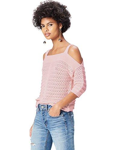 FIND Top Tricot Donna in Cotone Rosa (Blush)