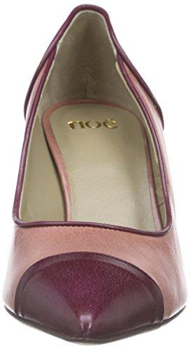 Noe Antwerp Nino Pump, Chaussures à talons - Avant du pieds couvert femme Multicolore - Mehrfarbig (CONFETTO/CARMIN)