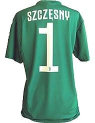 Maglia Juventus Wojciech Szczesny 1 Replica Autorizzata 2018-2019 Bambino (Taglie-Anni 2 4 6 8 10 12) Adulto (S M L XL) (XL) (12 Anni)